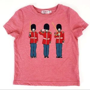 Cath Kidston UK Queens Soldiers T-shirt Size 2-3 y